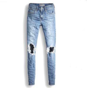 NEW Levi's 721 High Rise Skinny Sculpt jeans 25x30